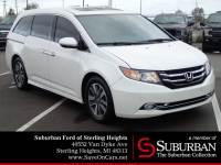 2015 Honda Odyssey Touring Minivan/Van V6 SOHC i-VTEC 24V