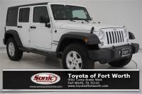 2015 Jeep Wrangler Unlimited Sport 4WD 4dr SUV in Fort Worth