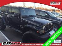 Certified Used 2012 Jeep Wrangler Unlimited Sahara SUV in Toledo
