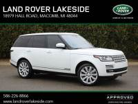 Certified Pre-Owned 2016 Land Rover Range Rover 5.0L V8 Supercharged in Macomb, MI