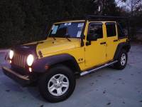 2008 Jeep Wrangler Unlimited 4x2 X 4dr SUV
