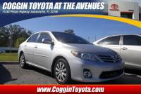 Pre-Owned 2013 Toyota Corolla L Manual Sedan Front-wheel Drive in Jacksonville FL