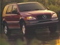 1998 Mercedes-Benz M-Class UP SUV