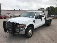 2008 Ford Super Duty F-350 DRW 4WD Crew Cab 176 WB 60 CA XL Crew Cab Chassis-Cab for Sale in Mt. Pleasant, Texas