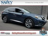 Certified 2017 Nissan Murano SUV in Cumming GA