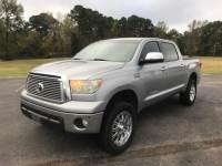 2010 Toyota Tundra 4WD Crewmax 5.7L FFV V8 6-Spd AT LTD Crew Cab Pickup for Sale in Mt. Pleasant, Texas