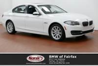 Certified Used 2014 BMW 5 Series in Fairfax, VA