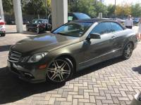 Pre-Owned 2011 Mercedes-Benz E 550 Rear Wheel Drive CABRIOLET
