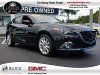 Pre-Owned 2015 MAZDA Mazda3 S GRAND TOURING Front Wheel Drive Hatchback