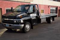 2003 Chevrolet 5500 Black Rollback, Tow-truck, Flatbed Duramax, Diesel, Aluminum Bed