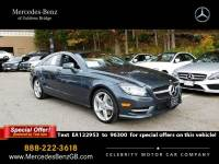 Certified Pre-Owned 2014 Mercedes-Benz CLS 550 AWD 4MATIC®