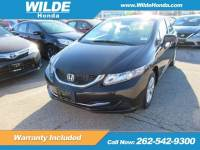 Certified Pre-Owned 2014 Honda Civic LX FWD 4dr Car