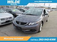 Certified Pre-Owned 2015 Honda Civic LX FWD 4dr Car