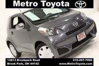 Certified Pre-Owned 2012 Scion iQ in Brook Park, OH Near Cleveland