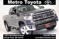 Certified Pre-Owned 2016 Toyota Tundra SR5 in Brook Park, OH Near Cleveland