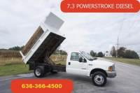 2000 Ford F-550 7.3 Powerstroke Diesel Dump Bed Manual Trans