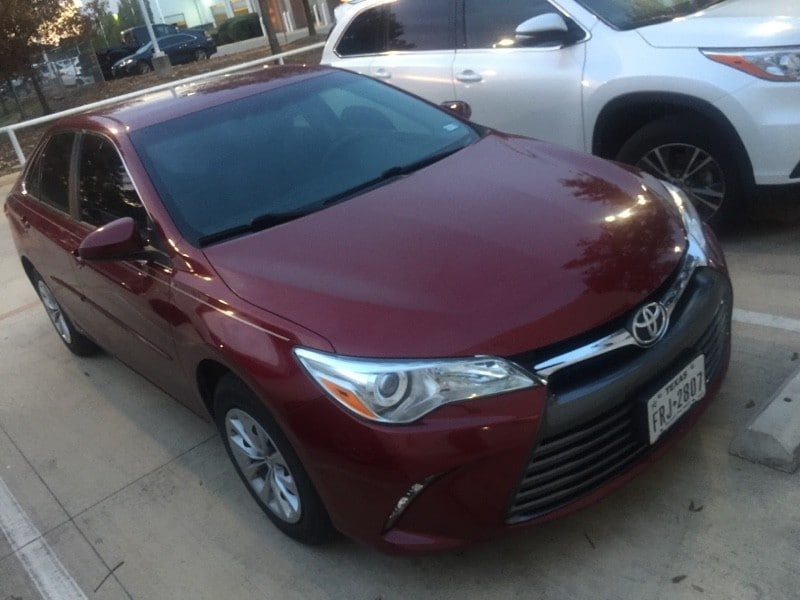 Photo Used 2015 Toyota Camry For Sale in San Antonio TX  4T1BF1FK2FU912924