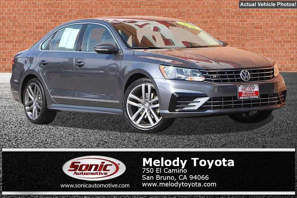 Photo Used 2016 Volkswagen Passat 1.8T R-Line wComfort PackagePZEV For Sale in Colma CA  Stock SGC041499  San Francisco Bay Area