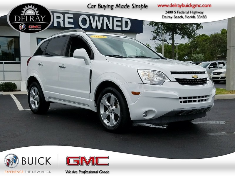 Photo Pre-Owned 2014 CHEVROLET CAPTIVA SPORT LT Front Wheel Drive Sport Utility Vehicle