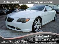 2006 BMW 6 Series 650i 2dr Convertible