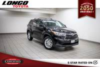 Certified Used 2015 Toyota Highlander FWD V6 LE in El Monte