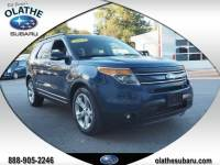 Used 2012 Ford Explorer Limited For Sale in Olathe, KS near Kansas City, MO