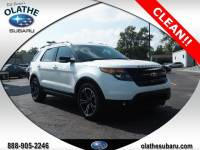 Used 2015 Ford Explorer Sport For Sale in Olathe, KS near Kansas City, MO