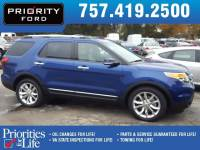 Used 2015 Ford Explorer Limited SUV V-6 cyl For Sale at Priority