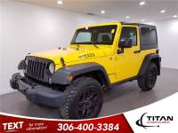 2015 Jeep Wrangler Willy's 4x4 Manual Yellow Low KMs