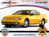 2002 Chevrolet Monte Carlo SS Coupe Front-wheel Drive