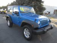 CERTIFIED PRE-OWNED 2016 JEEP WRANGLER SPORT 4WD