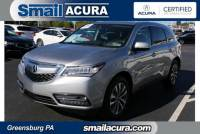 Pre-Owned 2016 Acura MDX in Greensburg, PA