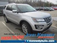 Certified 2017 Ford Explorer Limited SUV 6-Cylinder SMPI Turbocharged DOHC in Jenkintown