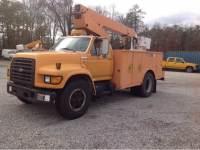 1995 Ford F-800 36ft Bucket Truck 36ft Boom Cummins Diesel