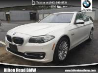 2015 BMW 5 Series 528i xDrive * CPO Warranty * One Owner * Luxury Li Sedan All-wheel Drive