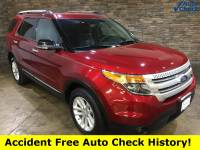 Pre-Owned 2013 Ford Explorer XLT Ruby Red Metallic Tinted Clearcoat AWD
