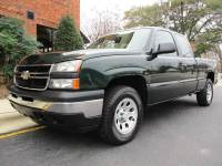 2006 Chevrolet Silverado 1500 Work Truck 4dr Extended Cab 4WD 6.5 ft. SB