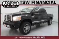 2009 Dodge Ram Pickup 2500 4x4 Laramie 4dr Mega Cab 6.3 ft. SB w/Supplemental Side Curtain Airbags