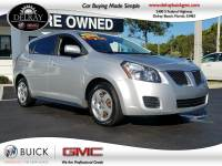 Pre-Owned 2009 PONTIAC VIBE W/1SA Front Wheel Drive 4 Door Compact Car