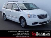 2013 Chrysler Town & Country Touring-L Minivan/Van 6-Cylinder SMPI DOHC