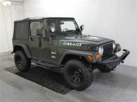 Jeep Wrangler Army Green For Sale