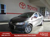 Used 2017 Chevrolet Sonic LS Auto Sedan For Sale in Albuqerque, NM