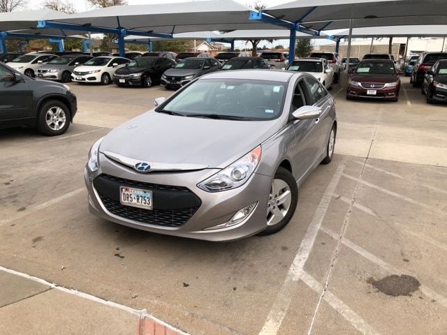 Photo 2012 Hyundai Sonata Hybrid Base For Sale Near Fort Worth TX  DFW Used Car Dealer
