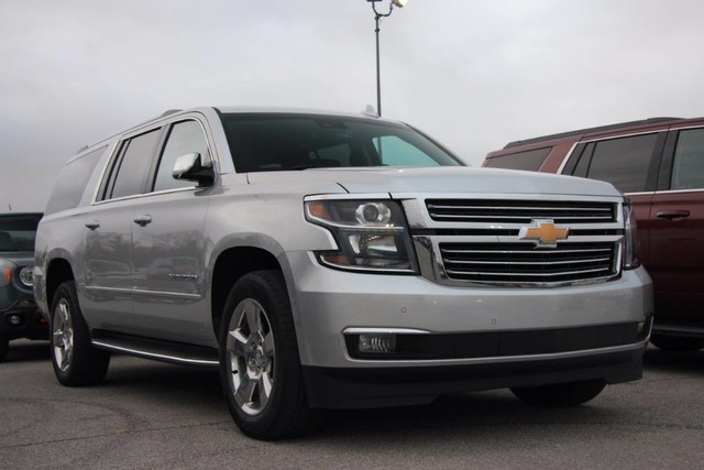 Photo Used 2017 Chevrolet Suburban Premier Luxury Edition Loaded LOW Miles in Ardmore, OK