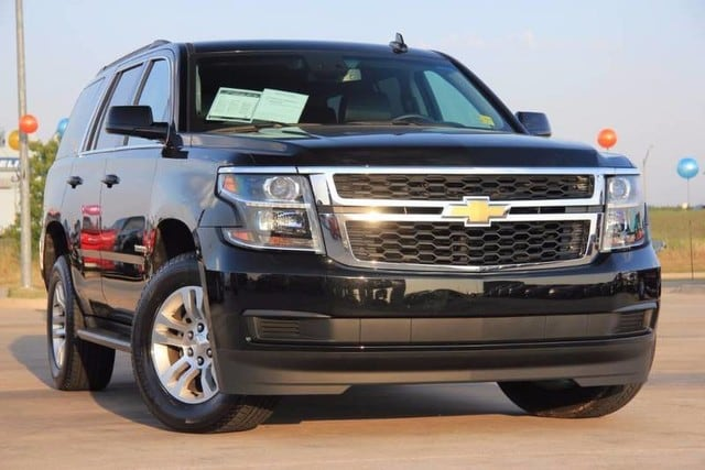 Photo Used 2017 Chevrolet Tahoe 4X4 Loaded Prisitine SUV LOW Miles in Ardmore, OK