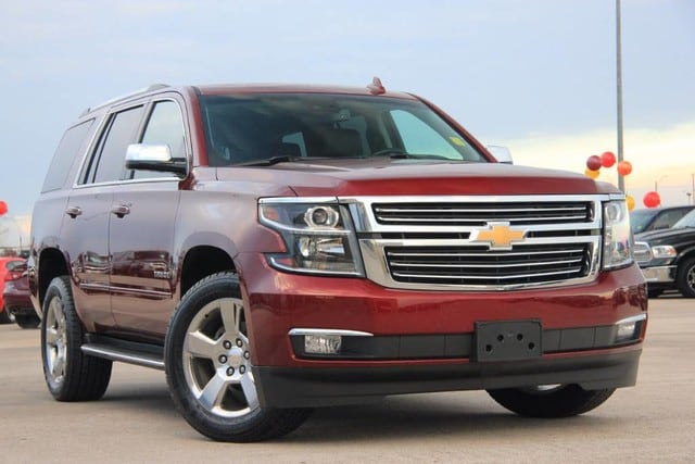Photo Used 2017 Chevrolet Tahoe 4X4 PREMIER EDITION ONE OWNER FACTORY WARRANTY PER in Ardmore, OK