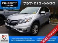 Certified Pre-Owned 2016 Honda CR-V EX-L SUV in Chesapeake, VA, near Virginia Beach