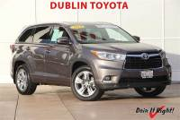 Certified Pre-Owned 2014 Toyota Highlander Limited SUV in Dublin, CA