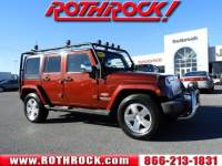 Used 2008 Jeep Wrangler Unlimited Sahara SUV in Allentown