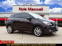 DEALER CERTIFIED PRE-OWNED 2013 BUICK ENCORE PREMIUM DEALER CERTIFIED FWD SPORT UTILITY